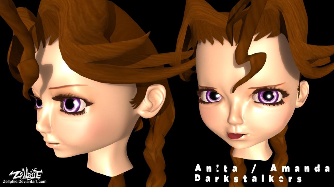 Anita DARKSTALKERS visage 2