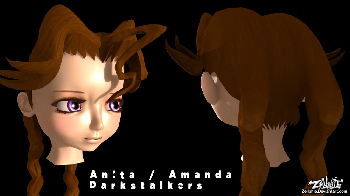 Anita DARKSTALKERS visage